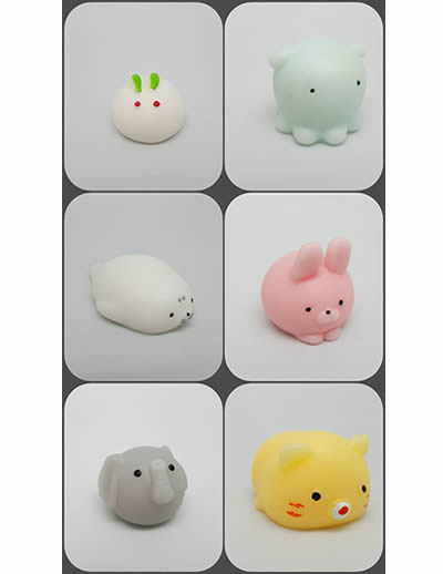 50mm Squishy Moshi Animals x 120 (30p) (Series 3)